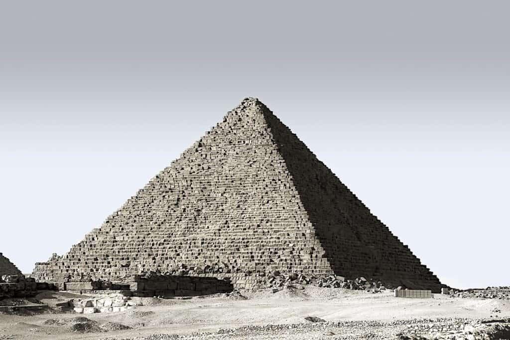 Pyramide i Egypten