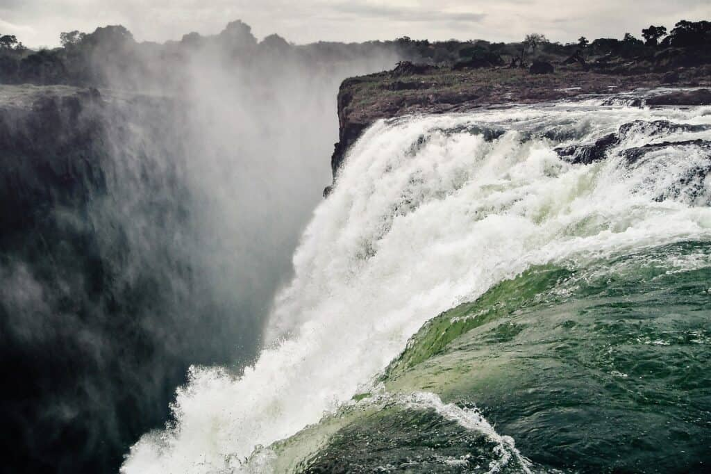Victoria Falls i Zimbabwe
