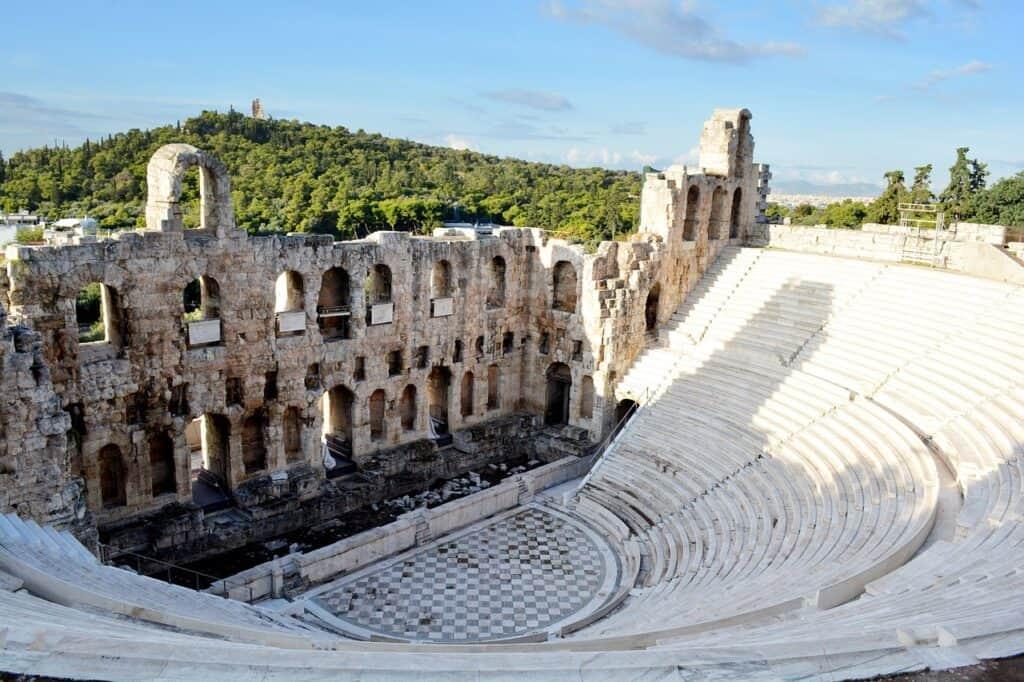 Akropolis dionysos teatret