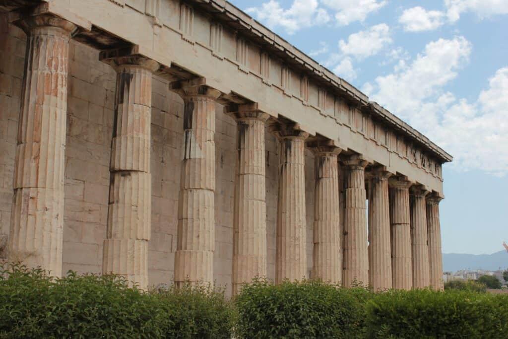hefaistos templet ved athen også kalde hephaestus