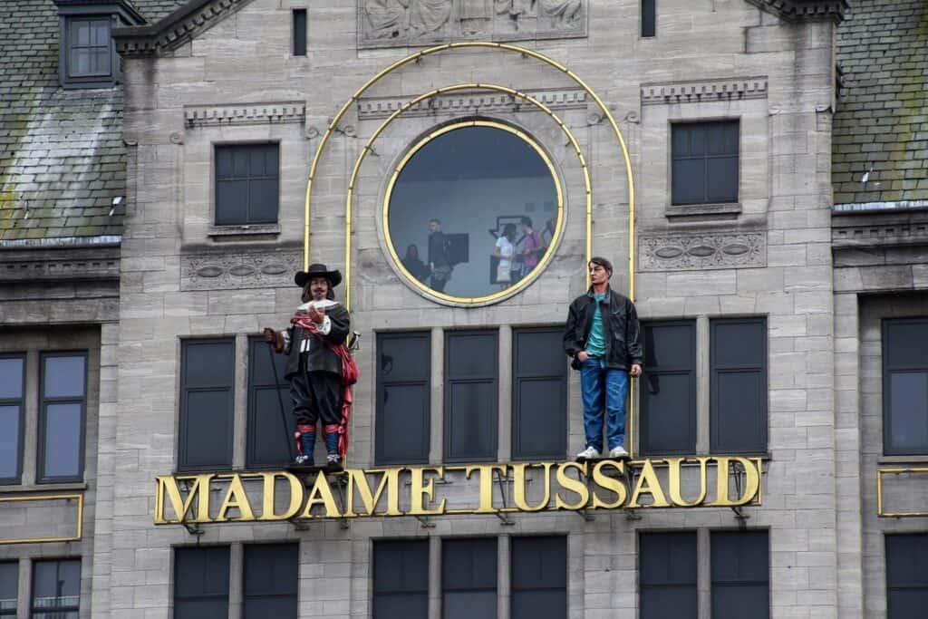 madame tussauds voksmuseum i london