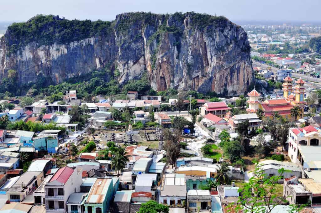marmorbjergene i vietnam