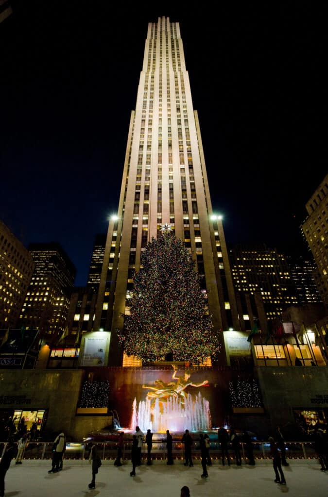 rockefeller center bygningen i new york